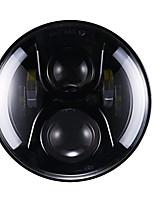 Недорогие -7-дюймовые светодиодные фары с ореолом-ангелом&усилитель; сигнал поворота для джип-спорщик 1шт / комплект