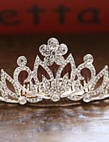 Недорогие -Жен. Дамы Свадьба Принцесса Сплав крошечный бриллиант Гребни Украшения для волос Подвески для волос