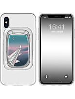 Недорогие -чехол для iphone x xs max xr xs задняя крышка мягкий чехол тпу креативный рисунок мультфильм самолет мягкий тпу для iphone5 5s se 6 6p 6s sp 7 7p 8 8p16 * 8 * 1