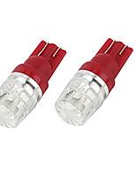 Недорогие -10 шт. / Компл. T10 светодиодные лампы высокой мощности призматические линзы декодирования лампы
