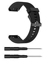 Недорогие -Ремешок для часов для Fenix 5s Garmin Спортивный ремешок силиконовый Повязка на запястье