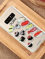 Недорогие -чехол для samsung galaxy s9 / s9 plus / s8 plus непромокаемый / пыленепроницаемый / ультратонкий / полупрозрачный задняя крышка еда мягкая тпу / мода тиснение мягкий чехол для телефона чехол для s8 /