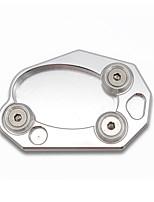 Недорогие -алюминиевая подставка для боковой стойки боковая стойка увеличительная пластина для kawasaki z1000 z1000sx zx10r zx6r er6n / f