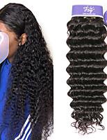 Недорогие -3 Связки Малазийские волосы Крупные кудри человеческие волосы Remy 100% Remy Hair Weave Bundles Человека ткет Волосы Удлинитель Пучок волос 8-28 дюймовый Нейтральный Ткет человеческих волос