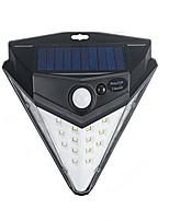 Недорогие -1шт 3 W Солнечный свет стены Работает от солнечной энергии Холодный белый 5.5 V Уличное освещение / двор 32 Светодиодные бусины