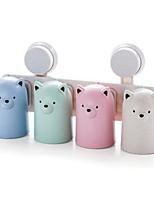 Недорогие -Стакан для зубных щеток Влажная чистка Modern ABS 1шт - Уход за телом Аксессуары для туалета