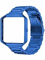 Недорогие -Ремешок для часов для Fitbit Blaze Fitbit Дизайн украшения Нержавеющая сталь Повязка на запястье