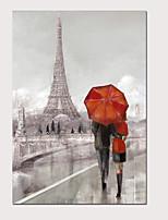 Недорогие -С картинкой Отпечатки на холсте - Абстракция Пейзаж Modern Репродукции