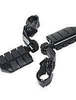 Недорогие -Подножка ноги шпилек ноги шпилек 360 градусов регулируемая на harley 32mm