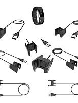 Недорогие -Smartwatch Charger Зарядное устройство USB USB Нормальная 0.7 A DC 5V для Fitbit Charge 2