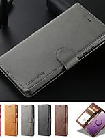 Недорогие -кожаный флип стенд магнитный кошелек чехол для телефона для samsung galaxy note 10 плюс примечание 10 держатель карты