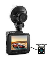 Недорогие -Двойной объектив Wi-Fi FHD 1080p Передняя VGA Задний автомобильный видеорегистратор 2880 x 2160p видеорегистратор Камера novatek 96660 Встроенный GPS