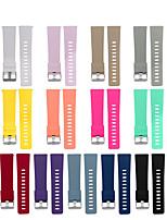 Недорогие -Ремешок для часов для Fitbit Versa Fitbit Классическая застежка силиконовый Повязка на запястье