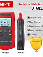 Недорогие -Портативный сетевой тестер Uni-T UT681A многофункциональный искатель кабеля с тестом сопротивления петли и сканированием последовательности проводов