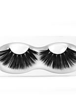 Недорогие -Наращивание ресниц одна пара ресниц накладные ресницы черные синтетические волокна наращивание ресниц макияж глаз w30
