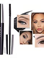 Недорогие -серебряное покрытие длительное наращивание макияжа глаз тушь 4d черный крем для глаз