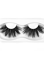 Недорогие -Neitsi одна пара наращивание ресниц накладные ресницы черные синтетические волокна ресницы наращивание глаз макияж w6x25