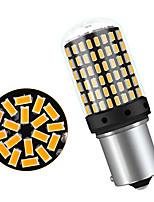 Недорогие -4шт 1156 / 7440 Автомобиль Лампы 22 W SMD 3014 144 Светодиодная лампа Лампа поворотного сигнала / Тормозные огни / Фонари заднего хода (резервные) Назначение Универсальный Все года