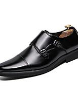 Недорогие -Муж. Комфортная обувь Микроволокно Лето Мокасины и Свитер Черный / Коричневый