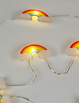 Недорогие -3 м радуги в форме огней 30 светодиодов теплый белый дом фея декоративные 5 В 1 компл.
