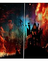 Недорогие -Новый уф печать шторы Хэллоуин тема волшебный замок плотные шторы готовые для спальни / гостиной