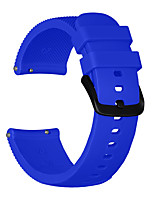 cheap -Watch Band for Vivomove / Vivoactive 3 / Forerunner 645 Garmin Sport Band Silicone Wrist Strap