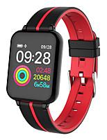 Недорогие -B57 умный браслет Bt фитнес-трекер поддержка уведомлений / сердечного ритма / артериального давления водонепроницаемый SmartWatch для Android / IOS