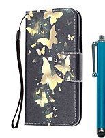 cheap -Case For Samsung Galaxy S10 / S10 Plus / S10 E Wallet / Card Holder / with Stand Full Body Cases Butterfly PU Leather / TPU for A71 / A51 / A90 / A80 / A70 / A50 / A30S / Note 10 Plus / J6 Plus