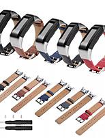 Недорогие -ремешок из натуральной кожи, совместимый для smartwatch garmin vivosmart hr