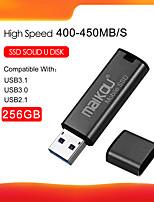 Недорогие -maikou mobile ssd usb3.0 портативный твердотельный накопитель 410 МБ / с высокоскоростной SSD-диск 256g