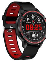 Недорогие -L8 умные часы мужчины ip68 водонепроницаемый режим reloj hombre smartwatch с ЭКГ ppg артериальное давление сердечного ритма спорт фитнес часы