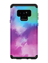 Недорогие -Кейс для Назначение SSamsung Galaxy Note 9 Защита от удара Кейс на заднюю панель Градиент цвета ПК
