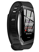 Недорогие -E18 умный браслет Bt фитнес-трекер поддержки уведомить&Монитор сердечного ритма, совместимый с IOS / Android телефонов