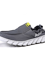 Недорогие -Муж. Комфортная обувь Полотно Лето Мокасины и Свитер Черно-белый / Черный / Желтый / Серый / на открытом воздухе