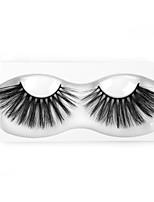 Недорогие -Наращивание ресниц одна пара ресниц накладные ресницы черные синтетические волокна наращивание ресниц глаза макияж w61