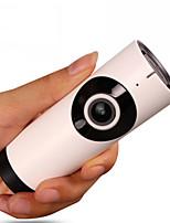 Недорогие -V380 панорамная камера 720p 1-мегапиксельная беспроводная Wi-Fi камера видеонаблюдения vr рыбий глаз 360 градусов HD поддержка карт машина 128 ГБ