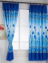 Недорогие -Современный Прозрачный 1 панель Занавес Спальня   Curtains