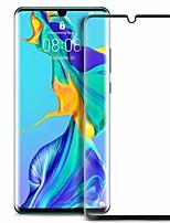 Недорогие -HuaweiScreen ProtectorHuawei P30 Pro Уровень защиты 9H Защитная пленка на всё устройство 1 ед. Закаленное стекло