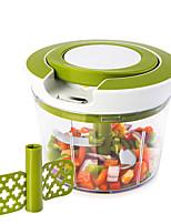 Недорогие -Быстрая тяга струны пищевой спираль слайсер мощный ручной ручной чопер миксер блендер кухонные инструменты