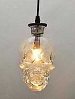Недорогие -Оригинальные Подвесные лампы Рассеянное освещение Окрашенные отделки Металл Стекло 110-120Вольт / 220-240Вольт