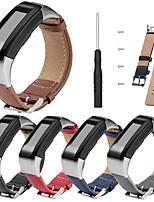 Недорогие -ремешок для часов замена ремешок из натуральной кожи браслет для Garmin Vivosmart HR (плюс) (не для Vivosmart HR)