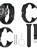 Недорогие -Ремешок для часов для Garmin Swim Watch Garmin Спортивный ремешок силиконовый Повязка на запястье