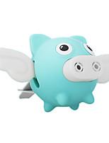Недорогие -автомобиль мультфильм летающая свинья аромат авто парфюм выход воздуха освежитель духи аромат клип
