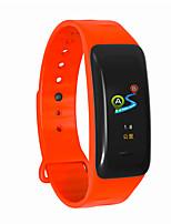 Недорогие -Indear C1 Мужчина женщина Умный браслет Android iOS Bluetooth Водонепроницаемый Сенсорный экран Пульсомер Измерение кровяного давления Спорт