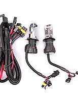 Недорогие -2шт 55w h4 hid спрятанный биксеноновый светильник для накаливания фар с высокой / низкой яркостью 3000-12000k комплект типотипная лампа * 2 балласта * 2 цветовая температура 8000k / 10000k