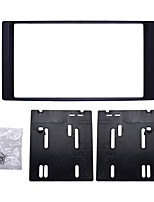 Недорогие -Автомобиль двойная рация радио Фасция DVD декоративная рамка для Subaru Forester Impreza 20082Din панель крепления панели приборов