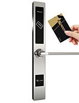 Недорогие -Factory OEM 1019RF Нержавеющая сталь Блокировка карты Умная домашняя безопасность система RFID Гостиница Деревянная дверь (Режим разблокировки Сумки для карточек)