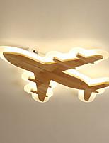 Недорогие -дизайн самолета светодиодный потолочный светильник новинка скрытого монтажа светильники окружающего света окрашенные отделки деревянные для детского сада детская комната