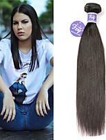 Недорогие -3 Связки Малазийские волосы Прямой Необработанные натуральные волосы 100% Remy Hair Weave Bundles Человека ткет Волосы Удлинитель Пучок волос 8-28 дюймовый Нейтральный Ткет человеческих волос