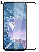 Недорогие -Защитная пленка Naxtop для Nokia X71 Закаленное защитное стекло высокой четкости (HD) / Твердость 9h / 2,5D изогнутый край
